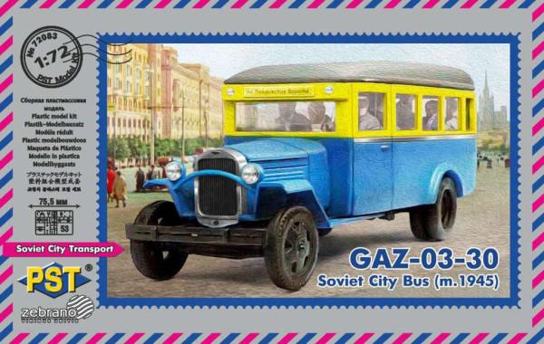 PST72083   Автобус ГАЗ-03-30 (1945) (thumb16040)
