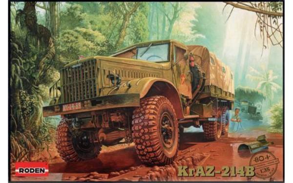 RN804   KrAZ-214B Soviet military truck (thumb20367)