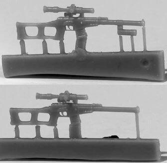 "ZebZA35258   Снайперская винтовка ВСС ""Винторез"", 6 шт. (thumb16456)"