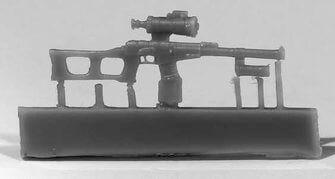 """ZebZA35259   Снайперская винтовка ВСС """"Винторез"""" с прицелом НСПУ-3, 6 шт. (thumb16458)"""