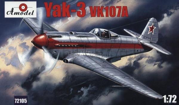 AMO72105   Yakovlev Yak-3 VK107A Soviet fighter (thumb15186)