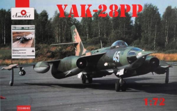 AMO72108-01   Yakovlev Yak-28PP + book 'Yak-28PP Rew Aircraft' (thumb15192)