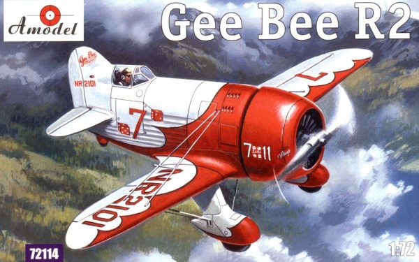 AMO72114   Gee Bee Super Sportster R2 Aircraft (thumb15202)