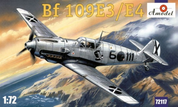 AMO72117   Messerschmitt Bf 109 E-3/E-4. Re-release. (thumb15206)