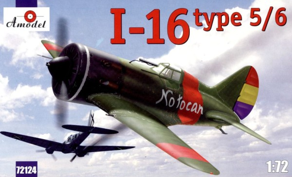 AMO72124   I-16 type 5/6 Soviet fighter (thumb15220)