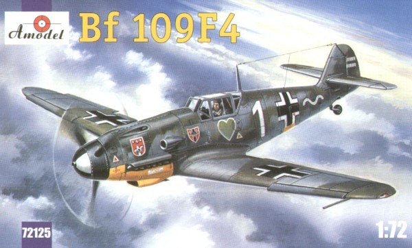 AMO72125   Messerschmitt Bf-109F4 WWII German fighter (thumb15222)