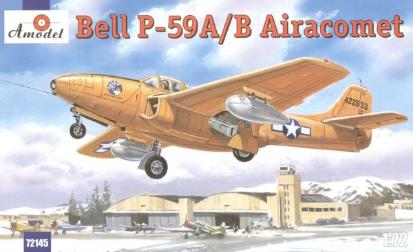 AMO72145   Bell P-59A/B Airacomet USAF fighter (thumb15262)