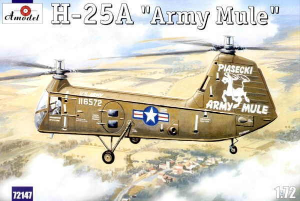 AMO72147   H-25A 'Army Mule' USAF helicopter (thumb15264)