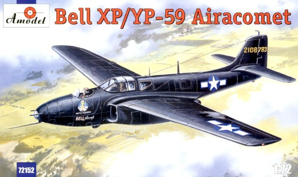 AMO72152   Bell XP/YP-59 Airacomet USAF fighter (thumb15266)