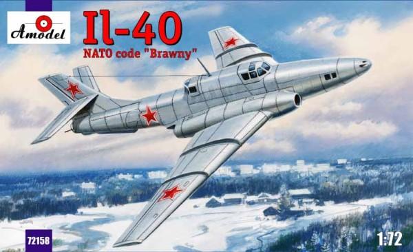 """AMO72158   Ilyushin IL-40 """"Brawny"""" Soviet jet-engined armored aircraft (thumb15278)"""
