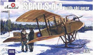 AMO7273   SPAD S.A.4 with ski gear (thumb15138)