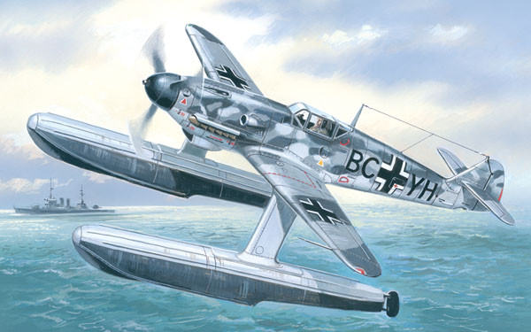 AMO7275   Messerschmitt Bf-109W German WWII fighter (thumb15140)