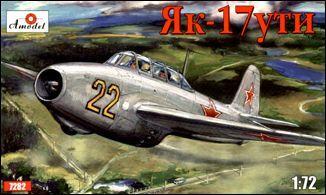 AMO7282   Yakovlev Yak-17UTI Soviet jet fighter (thumb15148)