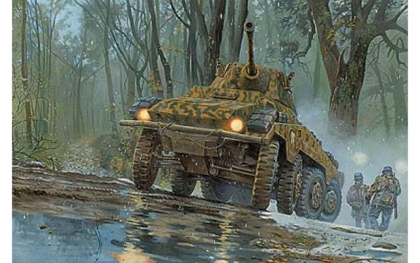 """RN705   Sd.Kfz. 234/2 """"Puma"""" armored car (thumb20408)"""
