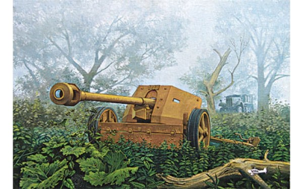 RN711   PAK-40 WWII German anti-tank gun (thumb20437)