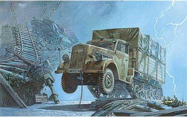 RN715   Opel Blitz Maultier German half-truck (thumb20449)