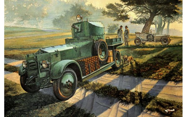 RN801   Rolls-Royce British armored car, Pattern 1920 Mk.I (thumb20355)