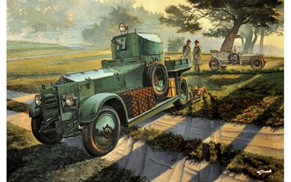 RN801   Rolls-Royce British armored car, Pattern 1920 Mk.I (thumb20355)