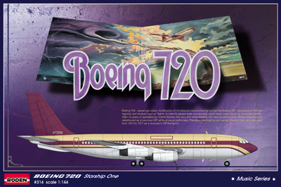 RN314   Boeing 720 Starship One (thumb20299)