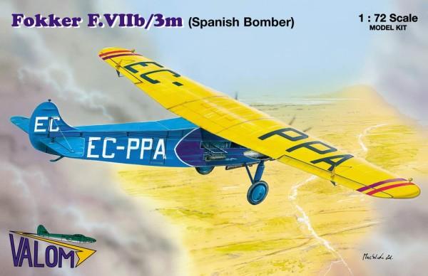 VM72064   Fokker F.VIIb/3m (Spanish Bomber) (thumb17681)