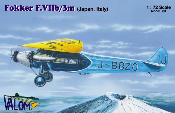 VM72071   Fokker F.VIIb/3m (Japan and Italy marking) (thumb17706)