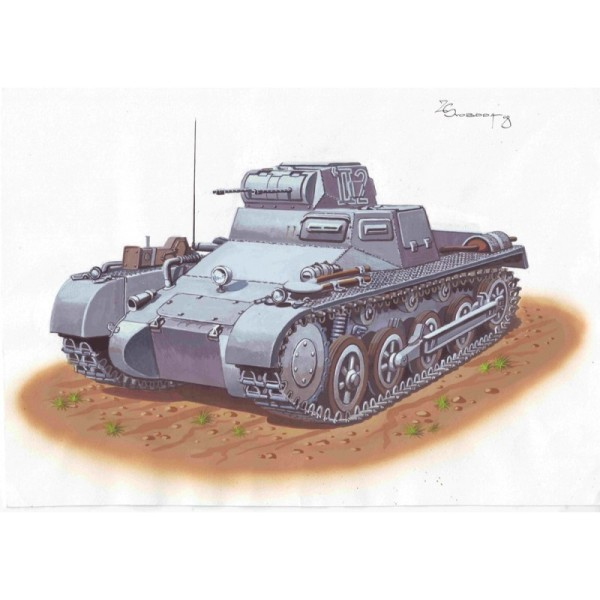 ATH72864 PzKpfw I Ausf. A   Early production (thumb16945)