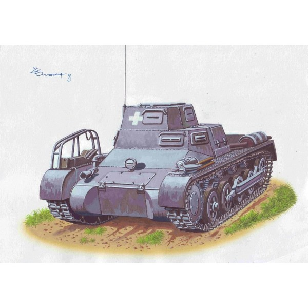 ATH72865 kl PzBefWg I Ausf. A  Early production (thumb16950)