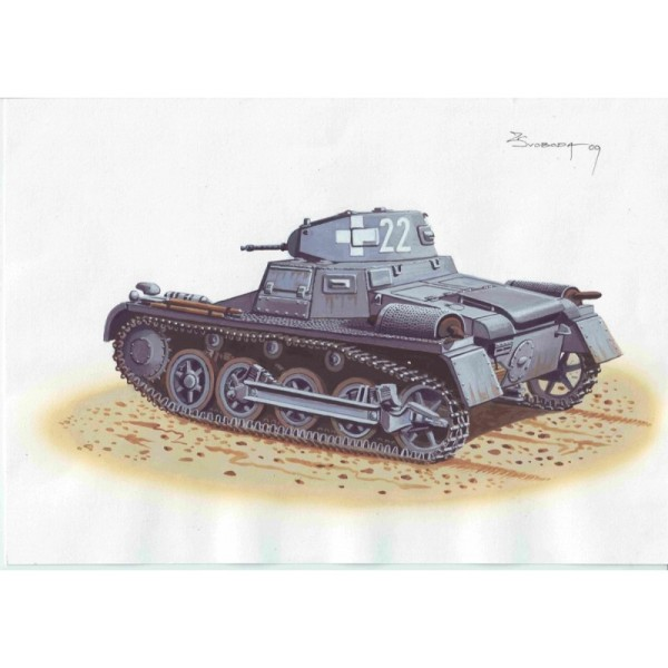 ATH72866 PzKpfw I Ausf.A  Late production (thumb16955)
