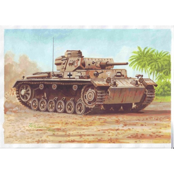ATH72887 PzJpfw III Ausf.J /with spaced armour (thumb17049)