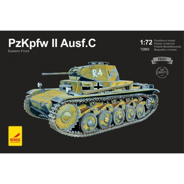 ATH72893 PzKpfw II Ausf. C Eastern Front (with 2 metal gun barrels) (thumb17076)