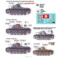 ATH72893 PzKpfw II Ausf. C Eastern Front (with 2 metal gun barrels) (attach1 17076)