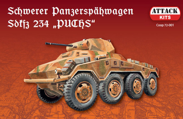 "ATHCoop 72-001 Sd.Kfz.234 ""Puchs"" (with metal barrel) (thumb17097)"