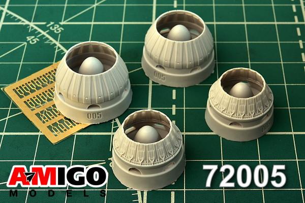 ADMG 72005     Реактивное сопло двигателя РД-7М самолета Ту-22К (thumb14390)