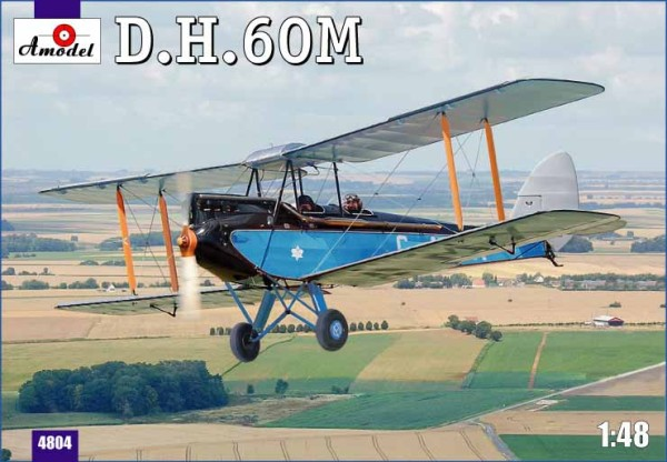AMO4804   de Havilland DH.60M Metal Moth (thumb14988)