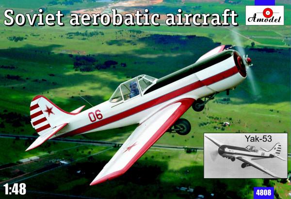 AMO4808   Yakovlev Yak-53 Soviet aerobatic aircraft (thumb14996)