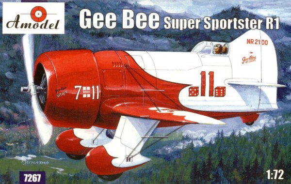 AMO7267   Gee Bee Super Sportster R1 Aircraft (thumb15126)