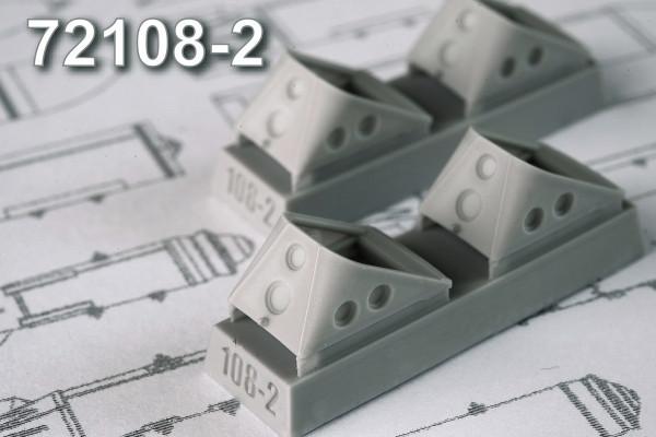 АDМС 72108-2     Колодки под колеса шасси, набор №2, размер 540х350х250 мм (в комплекте четыре колодки) (thumb14406)
