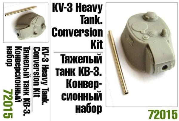 ZebZ72015    Тяжелый танк КВ-3. Конверсионный набор (thumb16088)