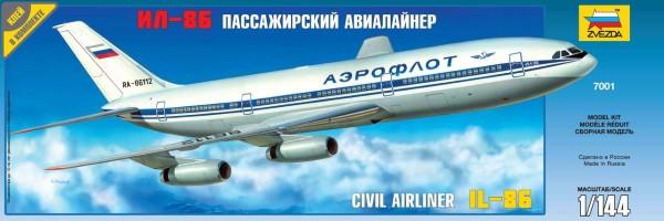 "ZV7001    Пасс. авиалайнер ""Ил-86"" (thumb19020)"