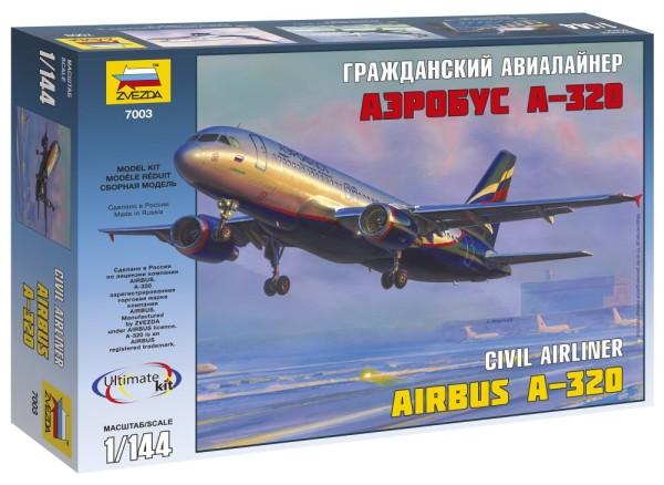 "ZV7003    Пасс. авиалайнер ""Аэробус А-320"" (thumb19022)"