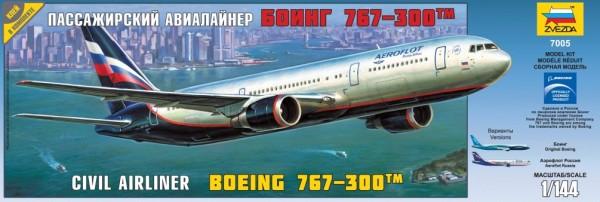 """ZV7005    Пасс. авиалайнер """"Боинг 767-300"""" (thumb19026)"""