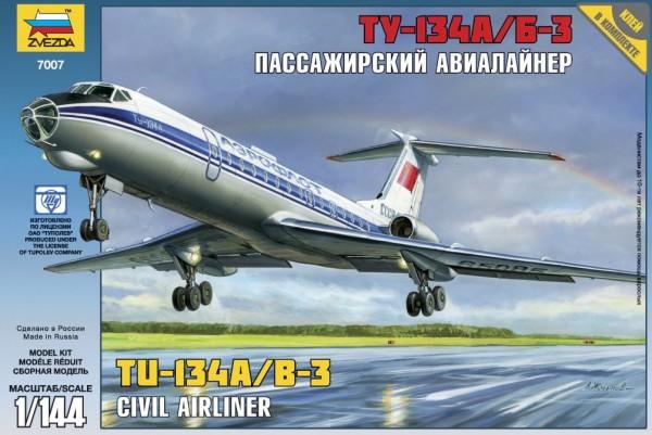 "ZV7007    Пасс. авиалайнер ""Ту-134"" (thumb19029)"
