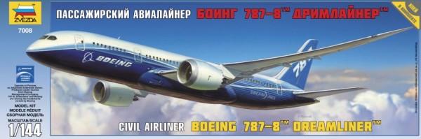 "ZV7008    Пасс. авиалайнер ""Боинг 787-8"" Дримлайнер (thumb19031)"