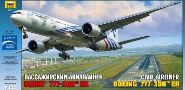"""ZV7012    Самолёт """"Боинг 777"""" (thumb19037)"""