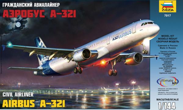 "ZV7017    Самолет ""Аэробус А-321"" (thumb19047)"