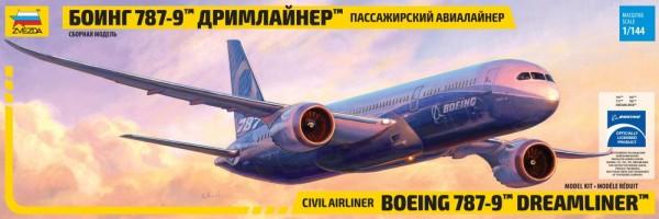 """ZV7021    Самолёт """"Боинг 787-9"""" (thumb19052)"""