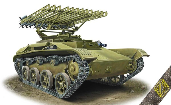 ACE72542    BM-8-24 Katiusha on T-60 chassie (thumb19506)