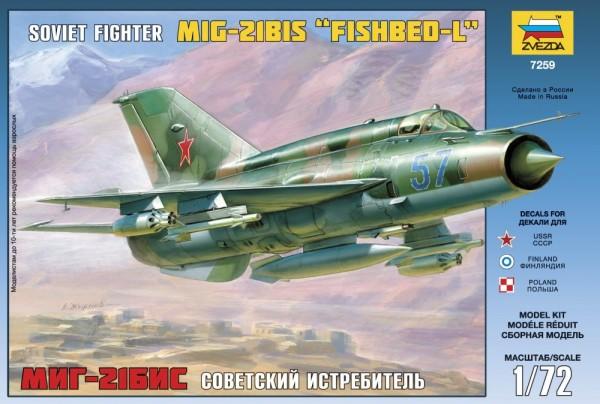 "ZV7259    Самолет ""МиГ-21БИС"" (thumb18915)"