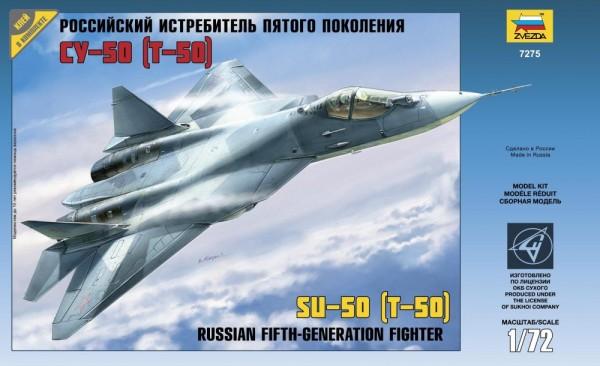 ZV7275    Самолёт пятого поколения Су-50 (Т-50) (thumb18941)