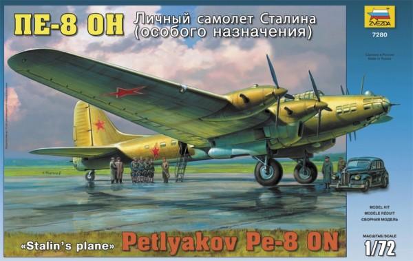 """ZV7280    Самолет """"Пе-8ОН"""" личный самолет Сталина (thumb18957)"""